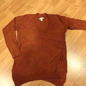Rust Orange Sweater